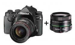 Pentax KP + DA 20-40 F 2.8-4 ED WR černý + Objektiv Pentax DA 50/1,8