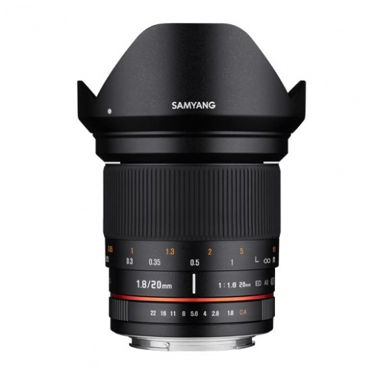 Samyang 20mm F/1.8 ED AS UMC pro Sony E
