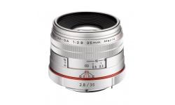 Pentax HD DA 35 mm F 2,8 Macro Limited stříbrný