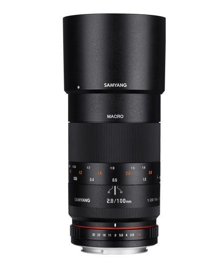 Samyang 100mm F/2.8 ED UMC MACRO AE pro Nikon