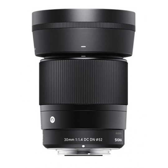 Sigma 30/1.4 DC DN Contemporary černý Micro 4/3 pro Olympus / Panasonic, Nákupní bonus 500 Kč (ihned odečteme z nákupu)