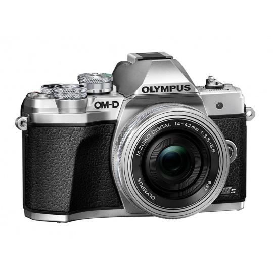 Olympus OM-D E-M10 III S + 14-42 EZ stříbrný