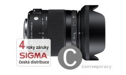 Sigma 18-200 mm F 3,5-6,3 DC Macro OS HSM Contemporary pro Nikon, Bonus 300 Kč ihned odečteme