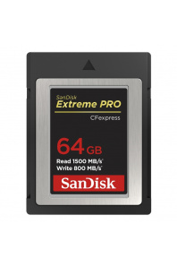 SanDisk Extreme PRO CFexpres 64GB, Type B