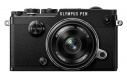 Olympus PEN-F + 17 mm 1,8 black (1718 Kit) + Karta SDHC 32GB