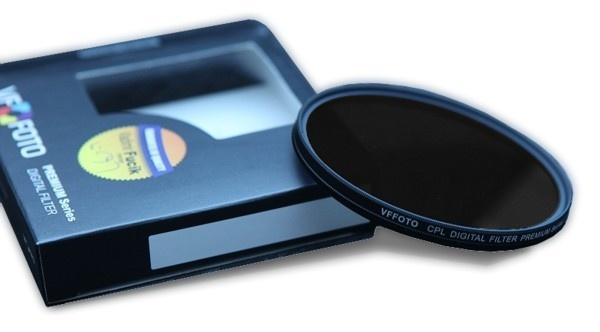 VFFOTO Cirkulární polarizační filtr PS 95 mm + utěrka z mikrovlákna