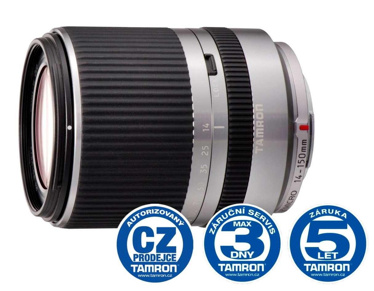 Tamron AF 14-150mm F/3.5-5.8 Di III silver pro Micro 4/3, Bonus 500 Kč ihned odečteme