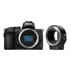 Nikon Z50 tělo + FTZ adaptér + Nákupní bonus 800 Kč