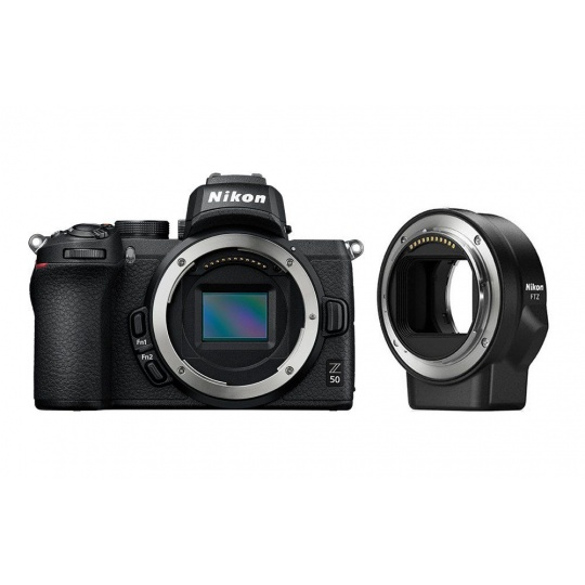 Nikon Z50 tělo + FTZ adaptér