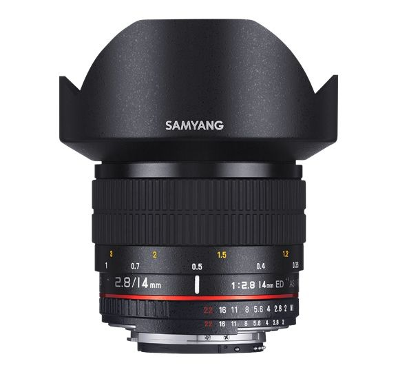Samyang 14mm f/2.8 ED AS IF UMC AE pro Nikon