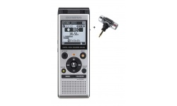 Olympus diktafon WS-852 stříbrný + ME51S mini stereo mikrofon