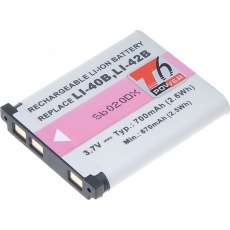 T6 Power pro Nikon (EN-EL10), Olympus (Li-42), Fujifilm (NP-45A)
