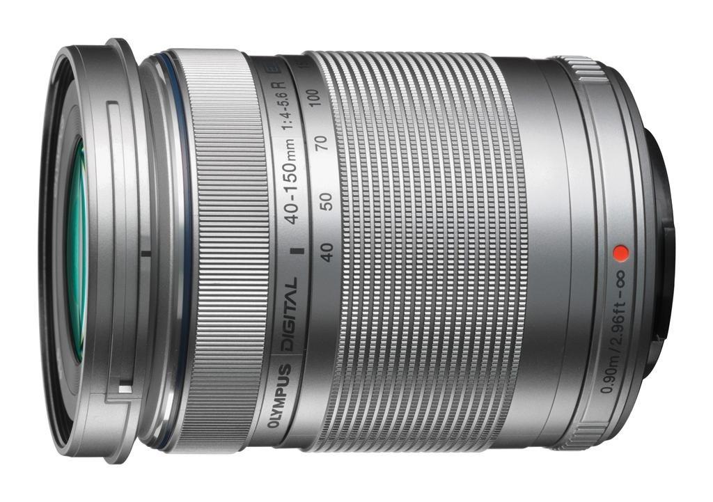Olympus M.ZUIKO DIGITAL ED 40-150mm 1:4.0-5.6 R stříbrný + Pouzdro Olympus OM-D Wrapping Case