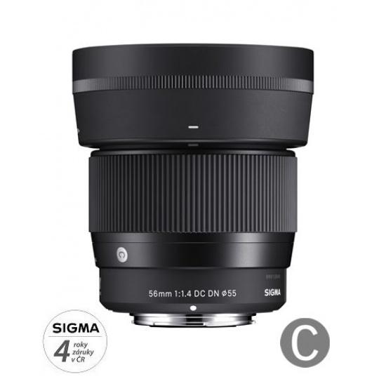 Sigma 56/1.4 DC DN Contemporary Micro 4/3 pro Olympus / Panasonic, Nákupní bonus 600 Kč (ihned odečteme z nákupu)