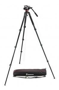 Manfrotto MVK502AQ (stativ MVT535AQ + hlava MVH502A + pouzdro)