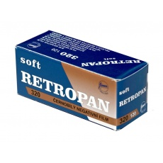 Foma Retropan 320 soft černobílý negativní svitkový film