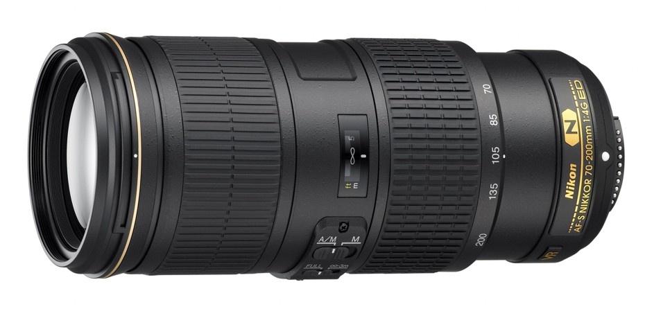 Nikon 70-200 mm F 4G ED AF-S VR