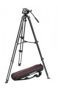 Manfrotto MVK500AM (stativ MVT502AM + hlava MVH500A + pouzdro)