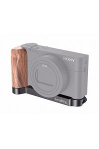 SmallRig LCS2467 L Wooden Grip for Sony RX100 III/IV/V(VA)/VI/VII