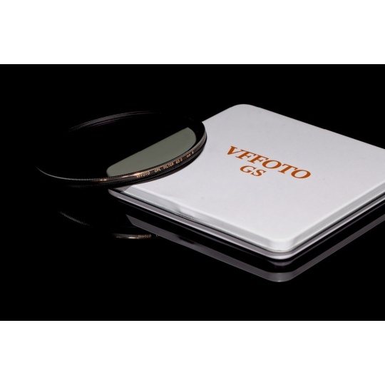 VFFOTO Cirkulární polarizační filtr GS S 82 mm + utěrka z mikrovlákna
