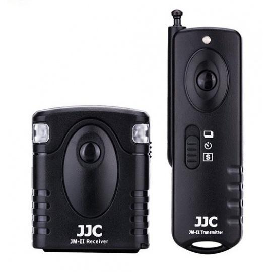 JJC JM-CII radiová bezdrátová spoušť Pentax K-1, K-1II, K-3... (konektor CS-205 a Canon RS-60E3)