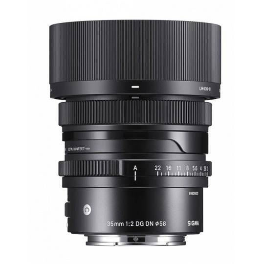 Sigma 35 mm f/2 DG DN Contemporary I pro Sony FE