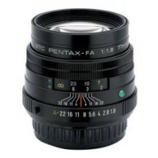Pentax smc FA 77 mm F 1,8 Limited černý