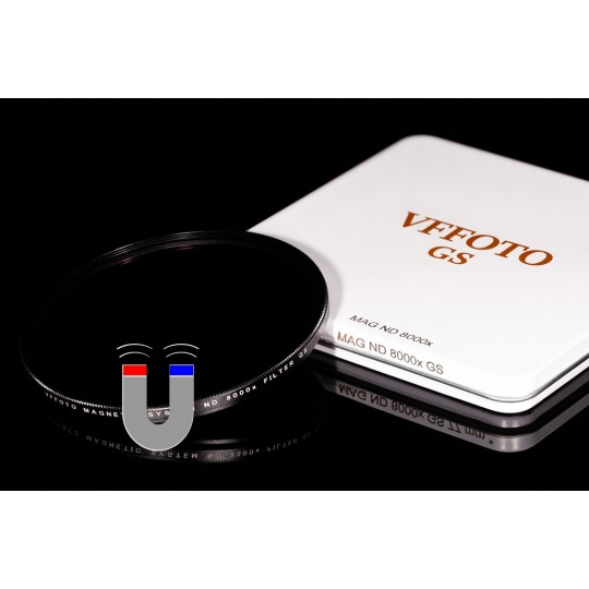 VFFOTO magnetický ND 8000x filtr GS 62 mm
