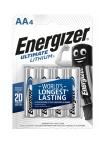 Energizer Ultimate LITHIUM FR6 AA 4ks
