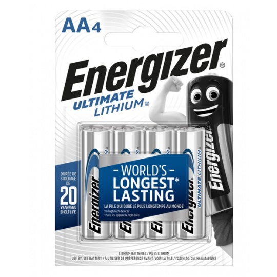 Energizer Ultimate LITHIUM FR6 AA 4ks