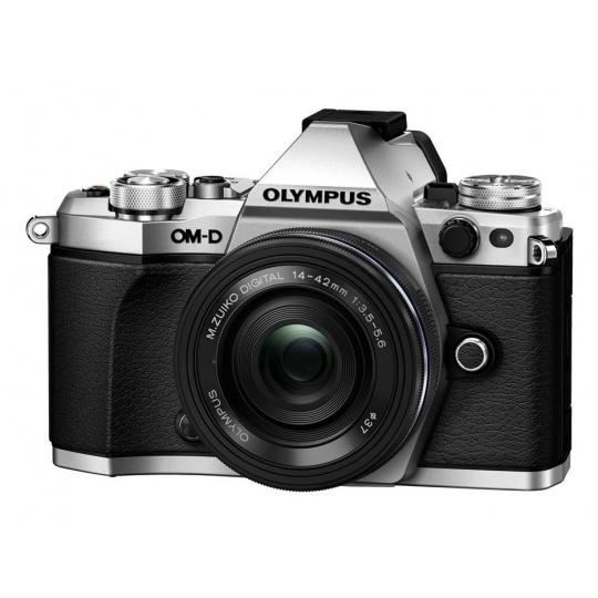 Olympus OM-D E-M5 II + 14-42 mm EZ silver, Nákupní bonus 1500 Kč (ihned odečteme z nákupu)