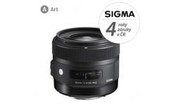 Sigma 30/1.4 DC HSM ART pro Nikon, Bonus 700 Kč ihned odečteme