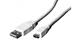 Value USB kabel Mini USB 0,8 m