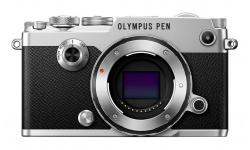 Olympus PEN-F body silver + Karta SDHC 32GB