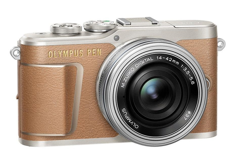 Olympus PEN E-PL9 + 14-42 mm EZ hnědý