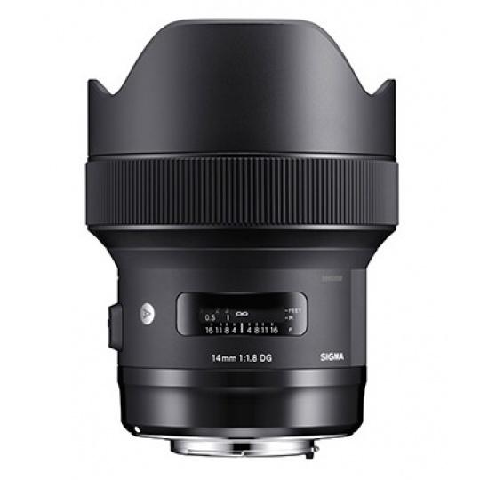 Sigma 14/1.8 DG HSM ART Canon EF, Nákupní bonus 2200 Kč (ihned odečteme z nákupu)