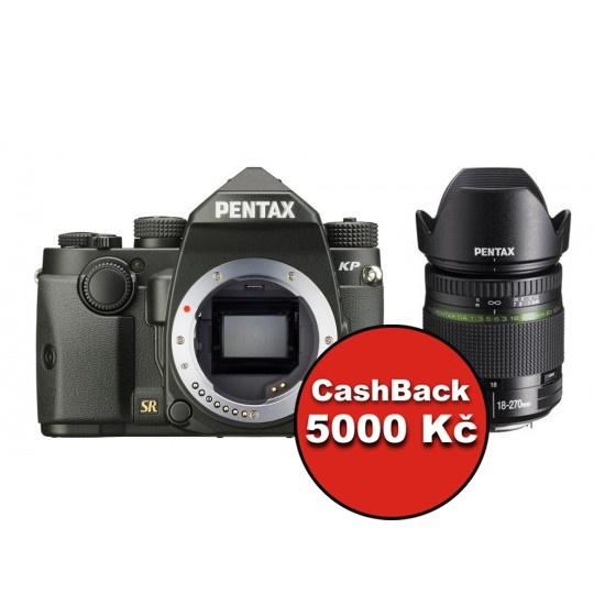 Pentax KP + DA 18-270 mm ED SDM černý, CashBack 5000 Kč