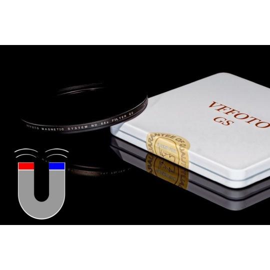 VFFOTO magnetický ND 64x filtr GS 62 mm