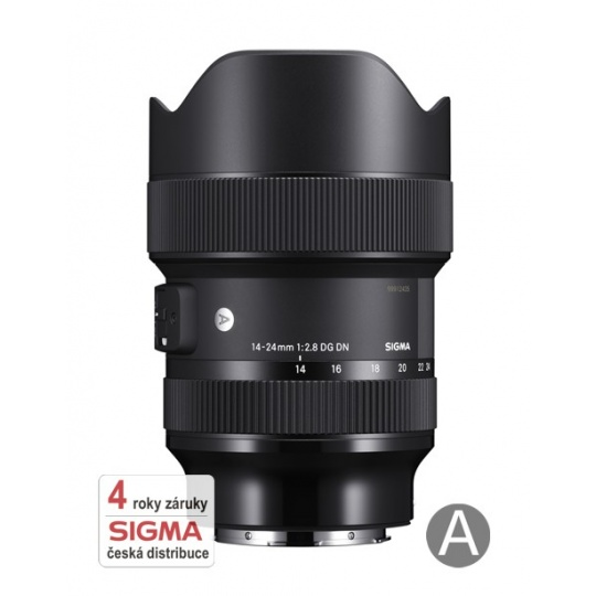Sigma 14-24/2.8 DG DN ART Sony bajonet E, Nákupní bonus 2300 Kč (ihned odečteme z nákupu)