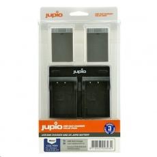 Jupio 2x baterie PS-BLS5 / PS-BLS50 a duální nabíječka pro Olympus