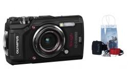 Olympus TG-5 černý + Adventure Pack a náhradní baterie