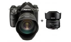 Pentax K-1 Mark II + HD D-FA 24-70 ED SDM WR + FullFrame objektiv Pentax DA 35/2,0