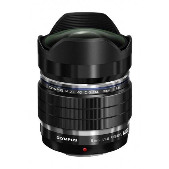 Olympus M.ZUIKO DIGITAL ED 8mm 1:1.8 Fisheye PRO (rybí oko EF-M0818)