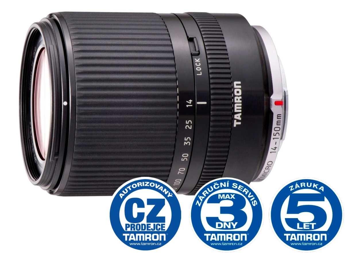 Tamron AF 14-150mm F/3.5-5.8 Di III black pro Micro 4/3, Bonus 500 Kč ihned odečteme