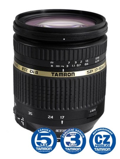 Tamron SP AF 17-50 mm F 2,8 XR Di-II VC LD Asp. (IF) pro Canon