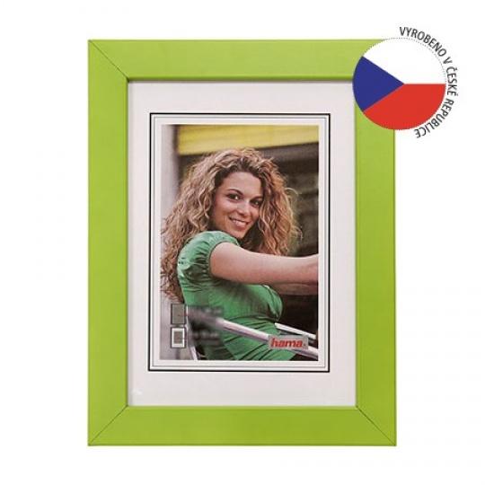 Hama rámeček dřevěný JESOLO zelená 20x30 cm