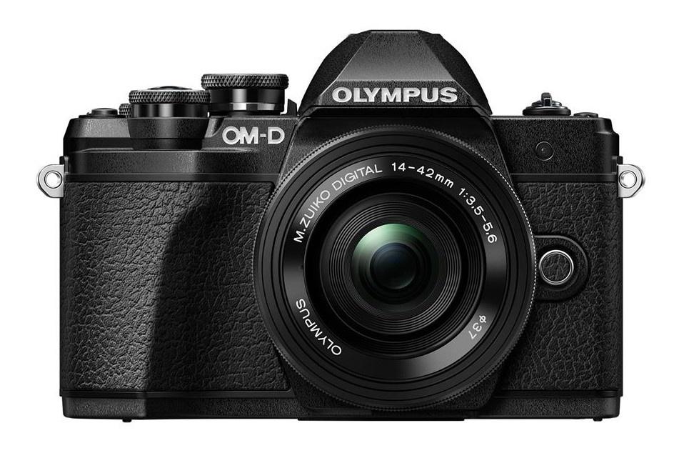 Olympus OM-D E-M10 mark III + 14-42 EZ černý + Karta SDHC 32GB a Náhradní baterie T6