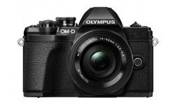Olympus OM-D E-M10 mark III + 14-42 EZ černý + Karta SDHC 32GB, Náhradní baterie, Powerbanka a Brašna