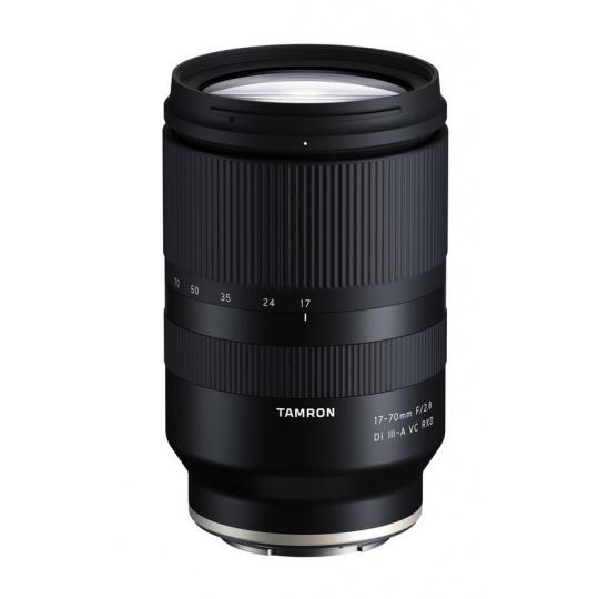 Tamron 17-70mm F/2.8 Di III-a RXD pro Sony FE (B070), Nákupní bonus 1500 Kč (ihned odečteme z nákupu)