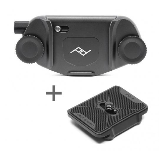 Peak Design Capture (v3) black - Dual plate